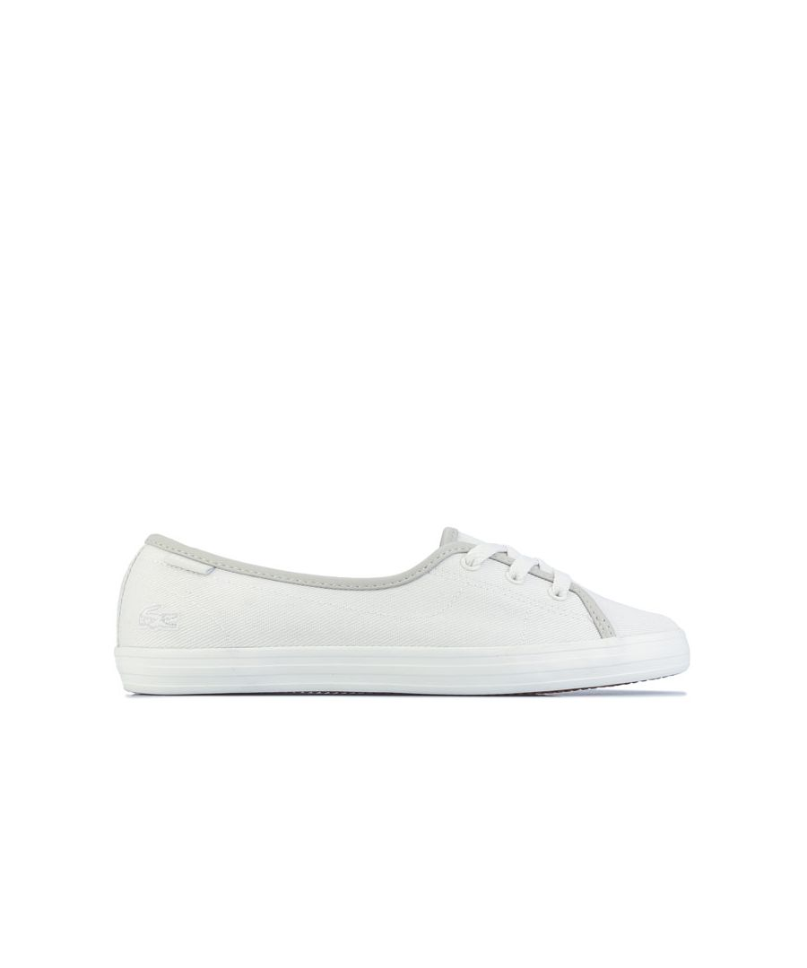 Image for Women's Lacoste Ziane Chunky Trainers in Off White