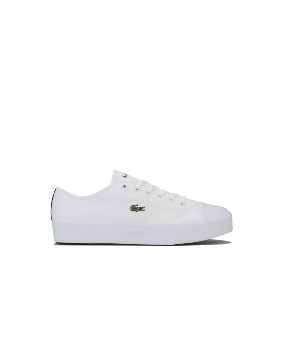 Image for Women's Lacoste Ziane Plus Grand Trainers in White Navy