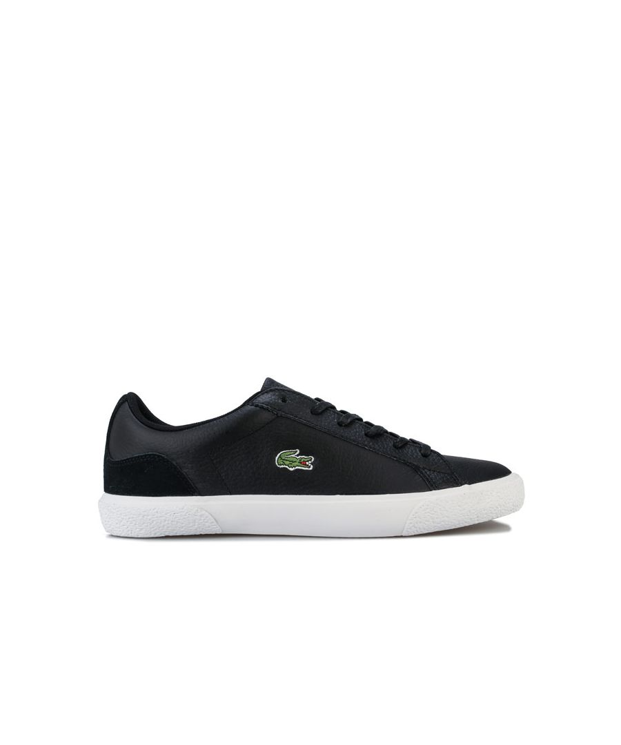 Image for Women's Lacoste Lerond Trainers in Black-White
