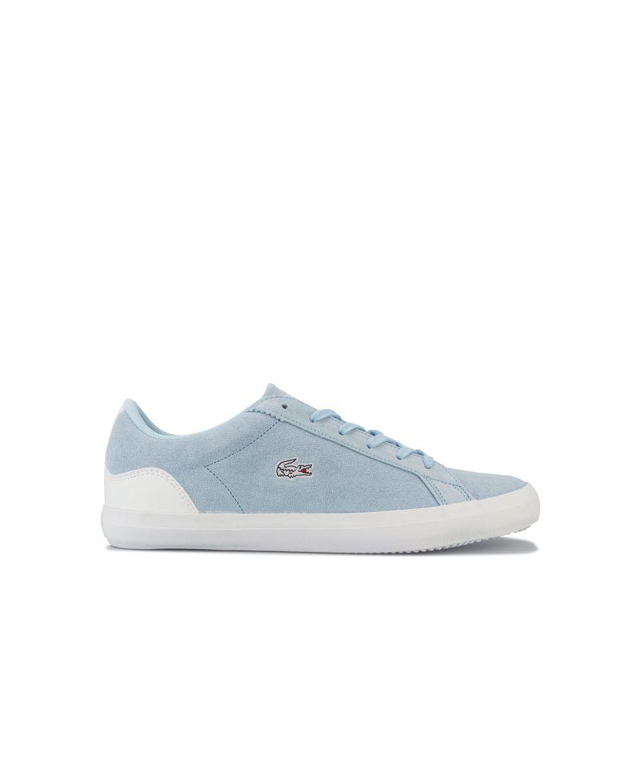 Image for Women's Lacoste Lerond Trainers in Blue-White