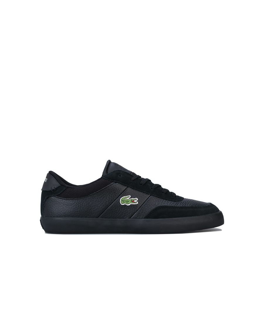 Image for Men's Lacoste Court Master 120 4 Trainers in Black