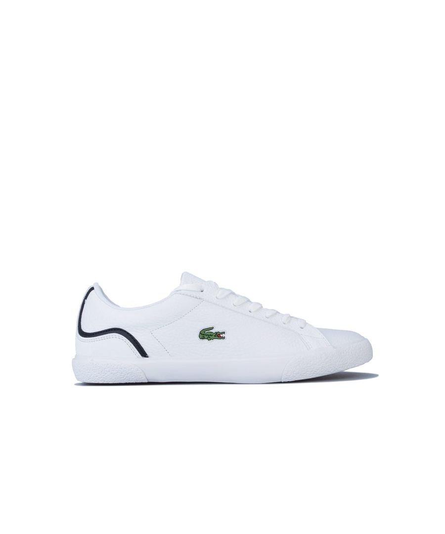 Image for Men's Lacoste Lerond 220 Trainers in White Black