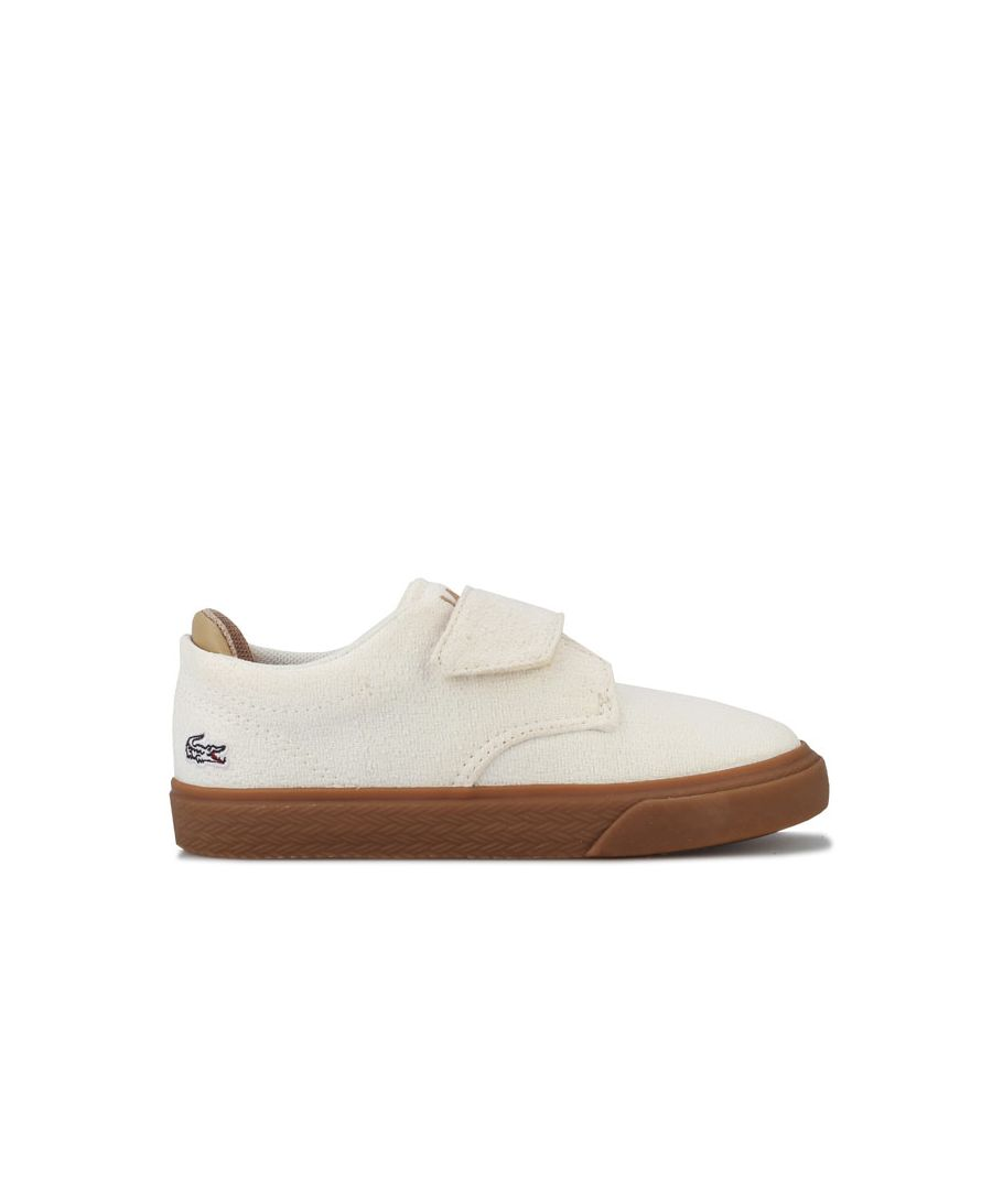 Image for Boy's Lacoste Infant Esparre Trainers in White