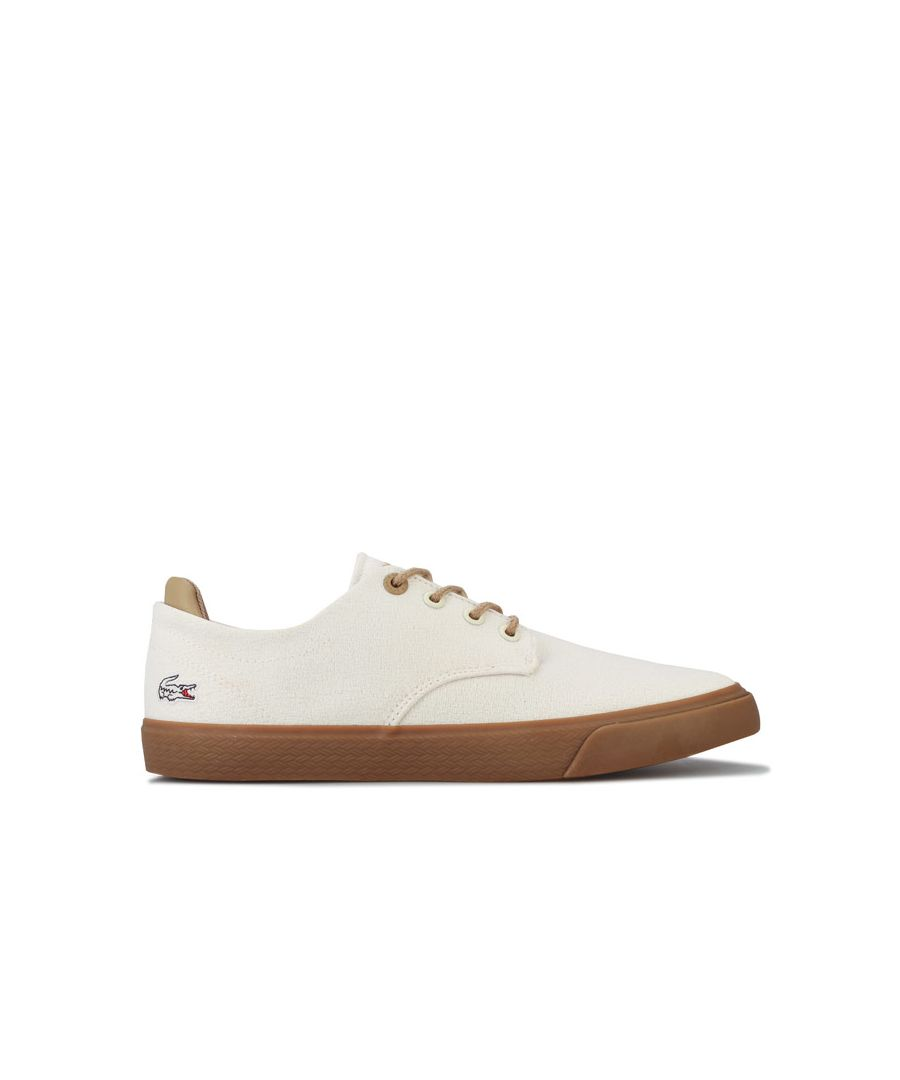Image for Boy's Lacoste Junior Esparre 120 Trainers in White