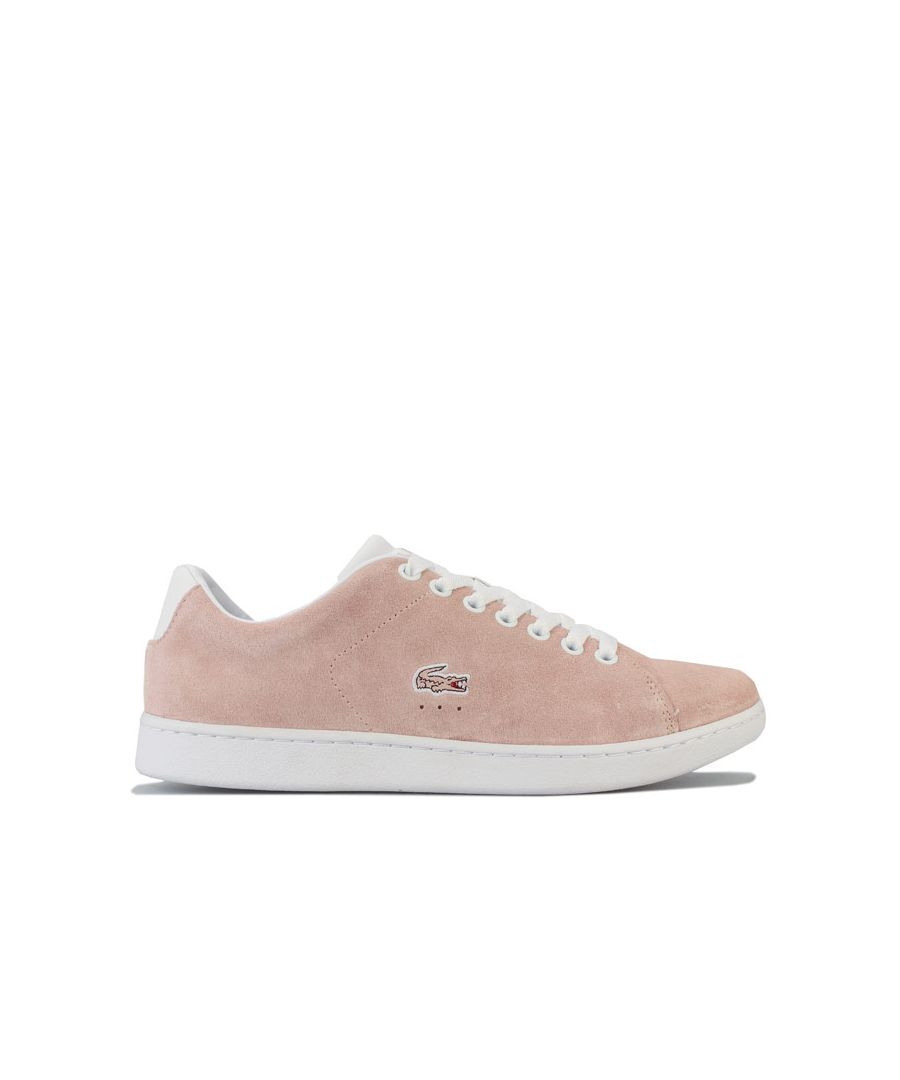 Image for Women's Lacoste Carnaby EVO 120 Trainers in Natural