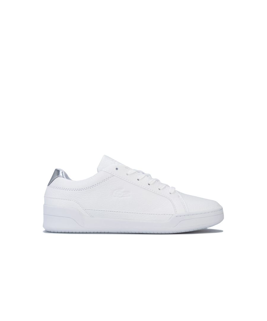 Image for Women's Lacoste Challenge Trainers in White silver