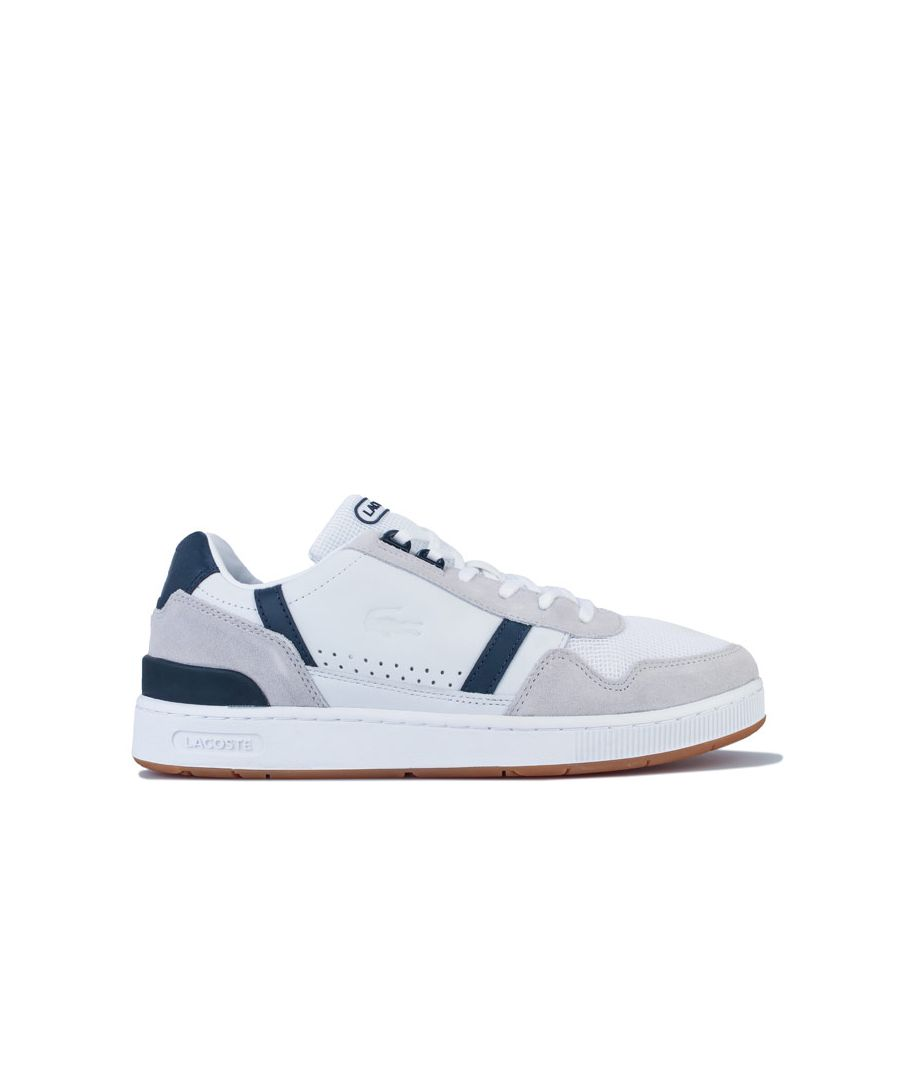 Image for Men's Lacoste T-Clip 120 Trainers in White