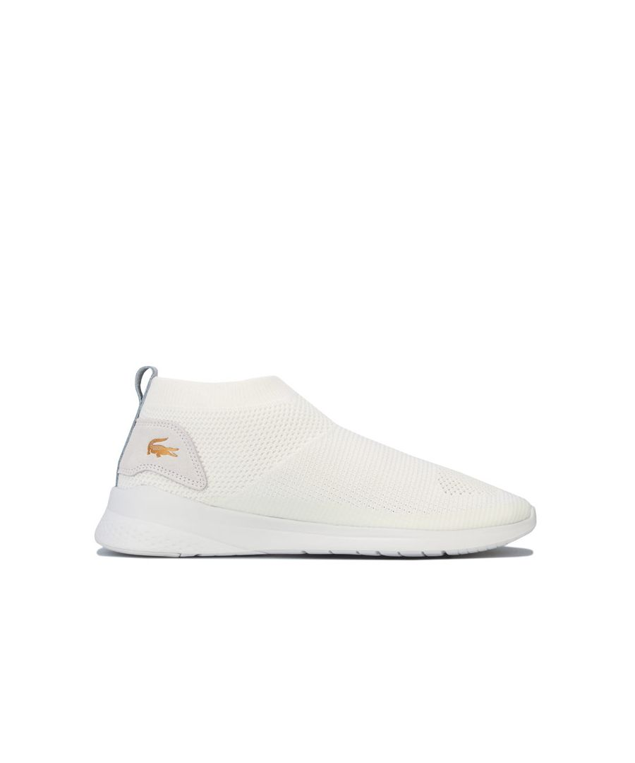 Image for Men's Lacoste LT Fit Sock Trainers in White