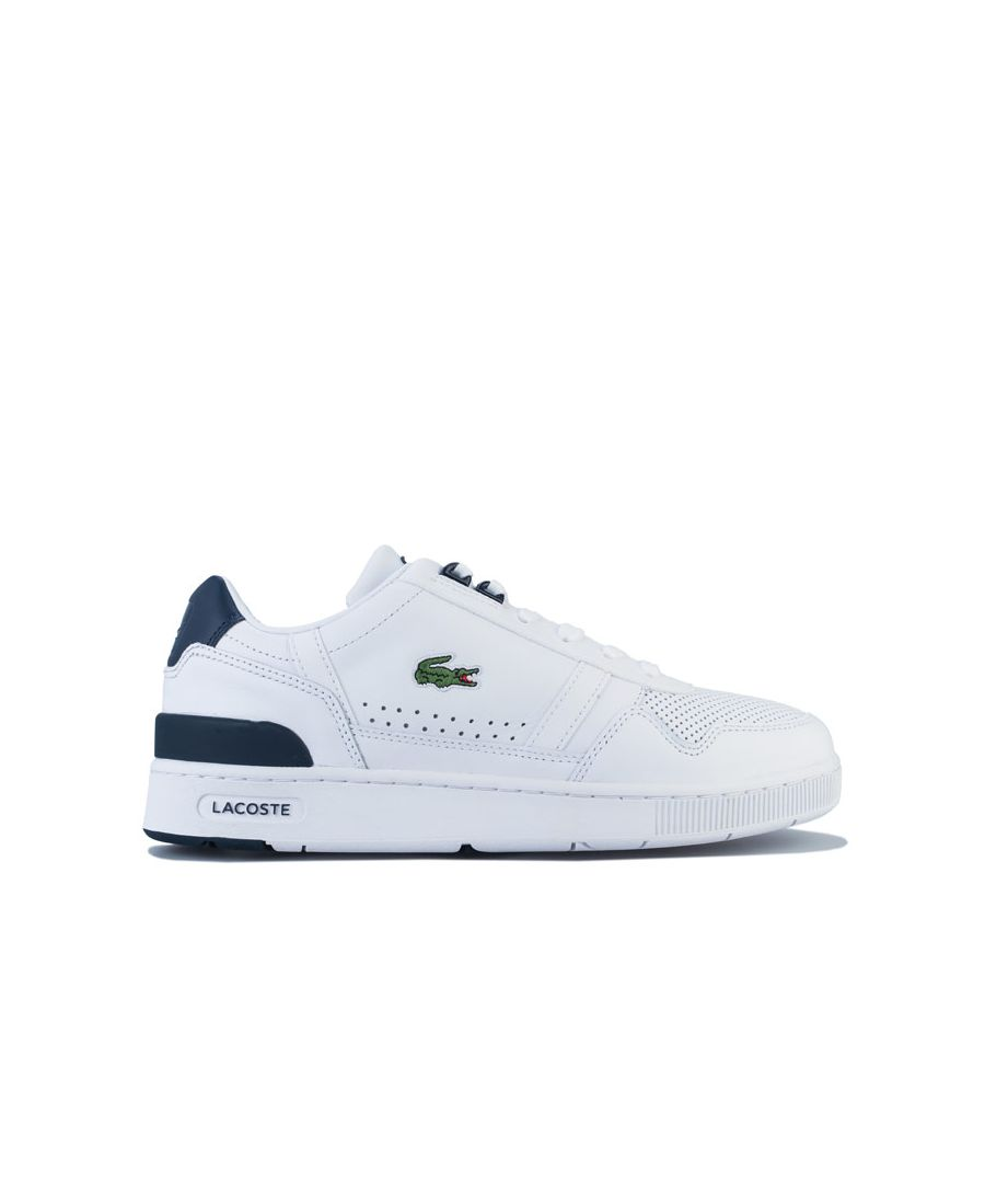 Image for Men's Lacoste T-Clip 220 Trainers in White