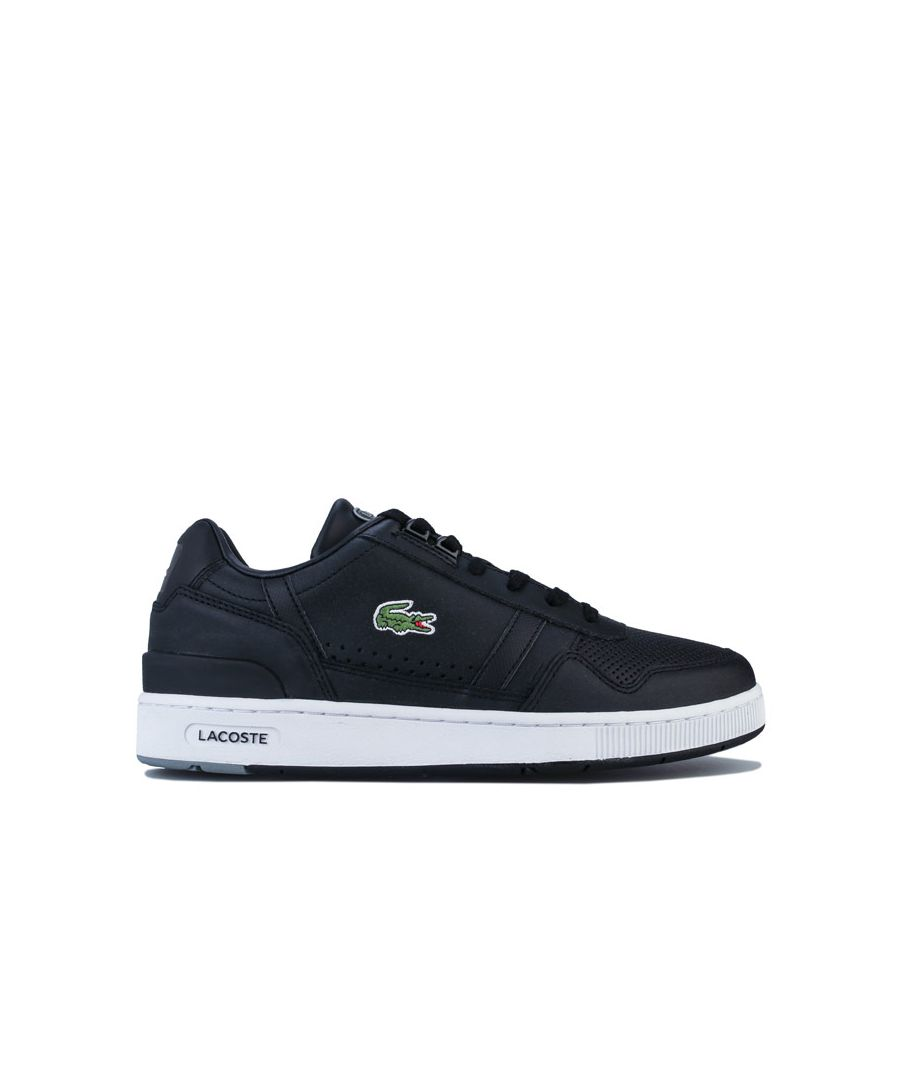 Image for Men's Lacoste T-Clip 120 Trainers in Black