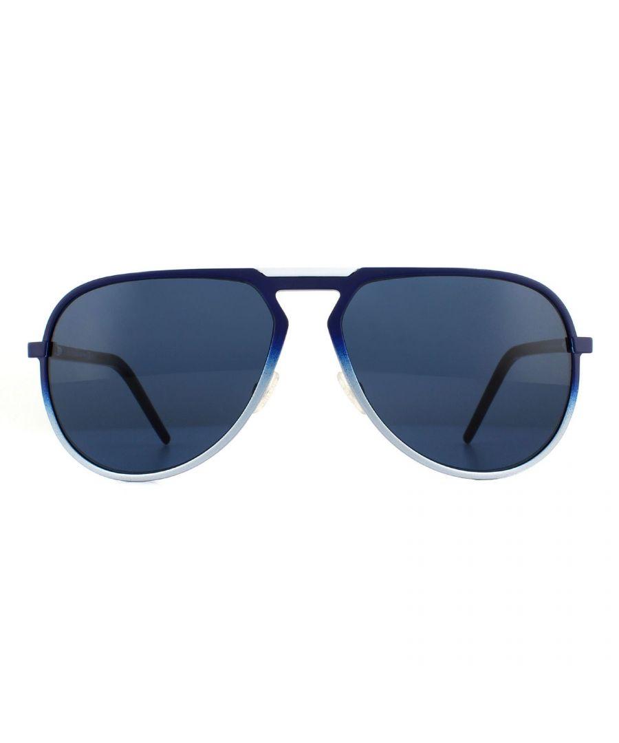 Image for Dior Sunglasses AL13.2 T5I KU Blue Black Blue