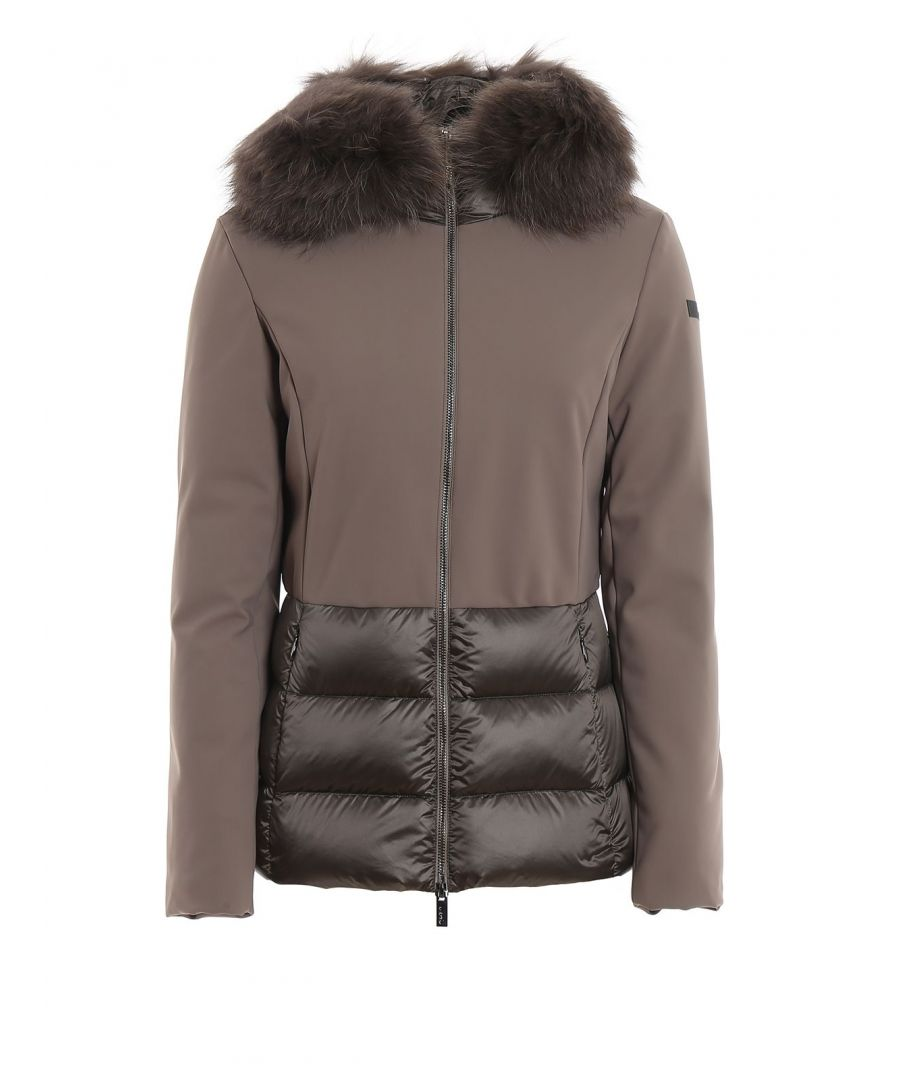 Image for RRD WOMEN'S W19532FT81 GREY POLYESTER DOWN JACKET