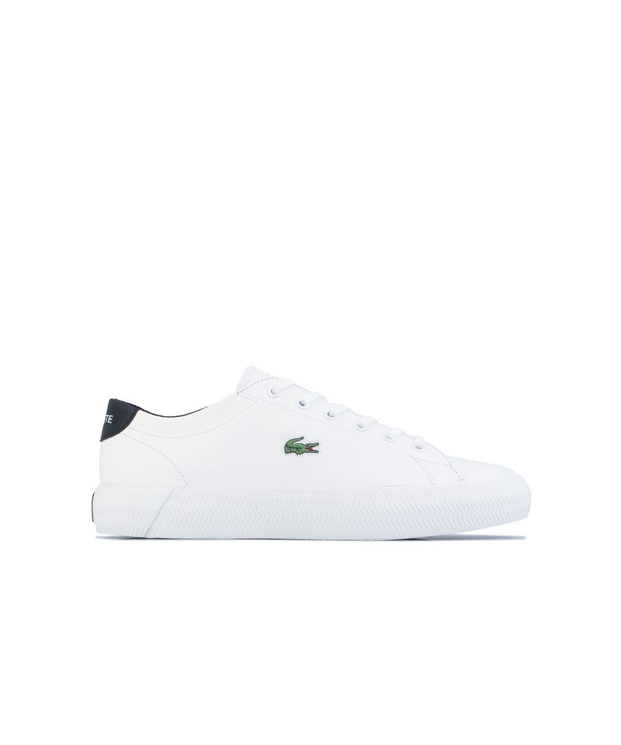Image for Women's Lacoste Gripshot Trainers in White Black