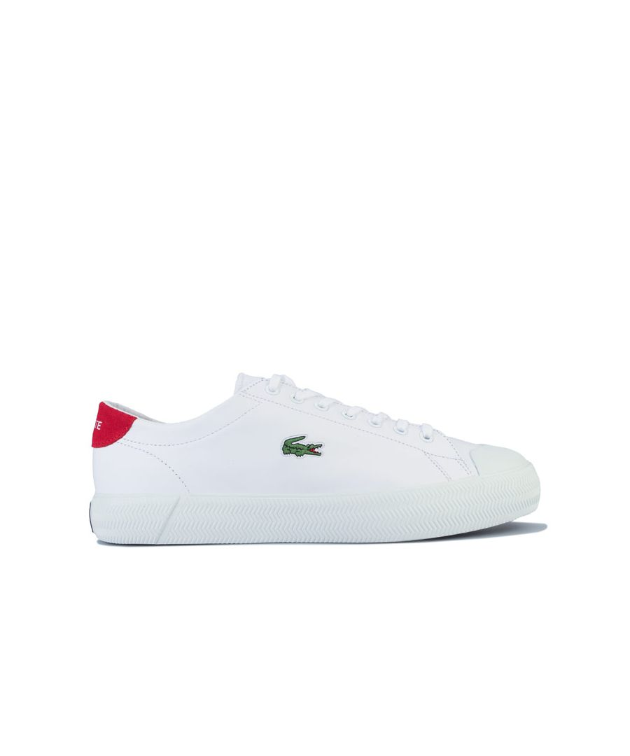 Image for Men's Lacoste Gripshot Trainers in White