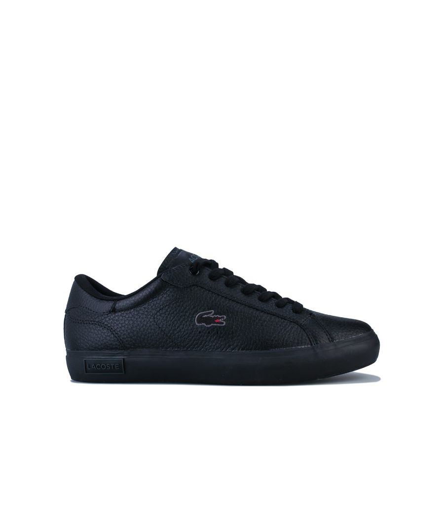 Image for Men's Lacoste Powercourt II Trainers in Black