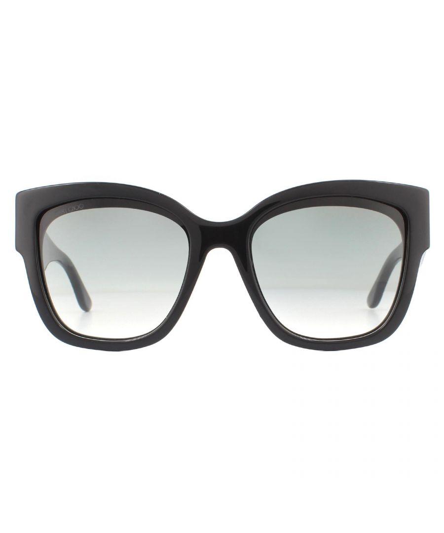 Image for Jimmy Choo Sunglasses Roxie 807 Black Dark Grey