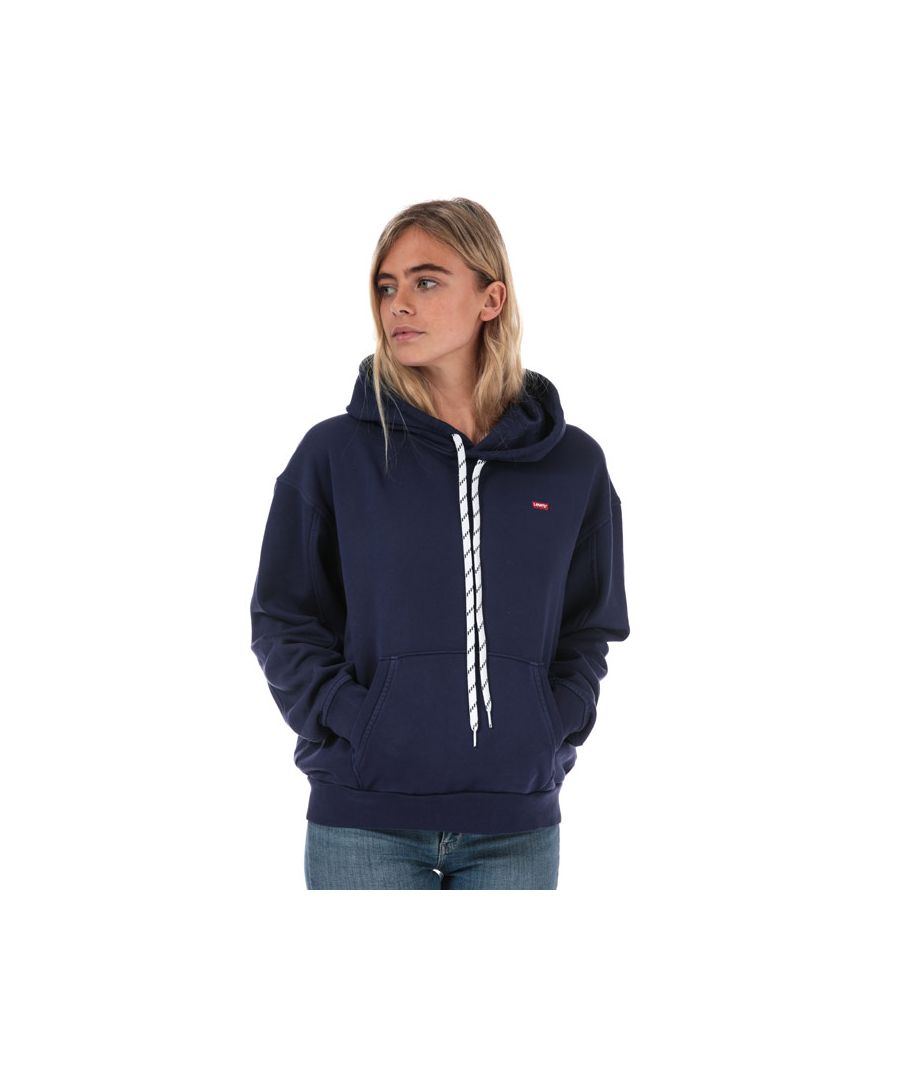 Image for Women's Levis Unbasic Hoody in Dark Blue