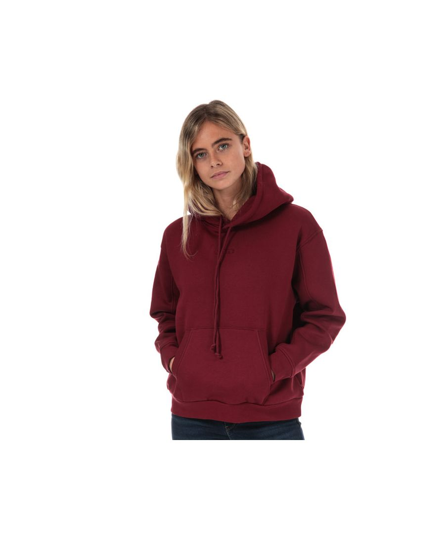 Image for Women's Levis Unbasic Hoody in wine