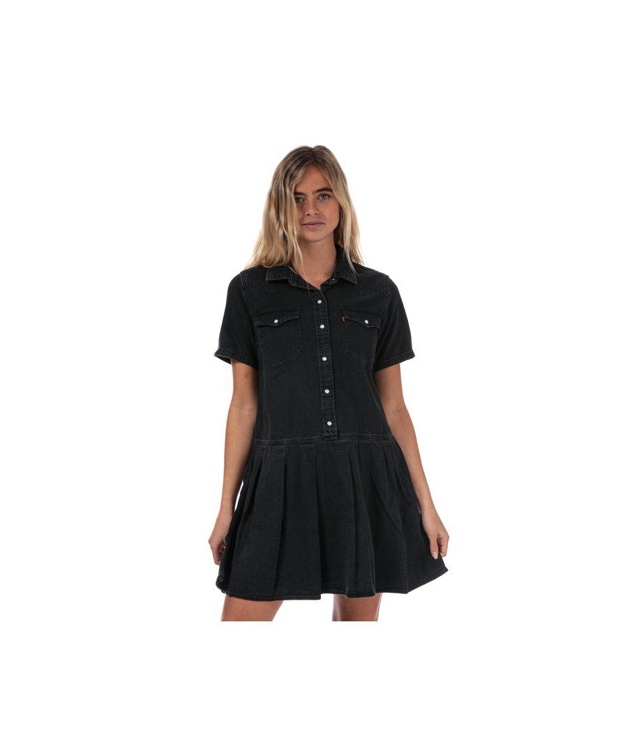 Image for Women's Levis Mirai Western Denim Dress in Black