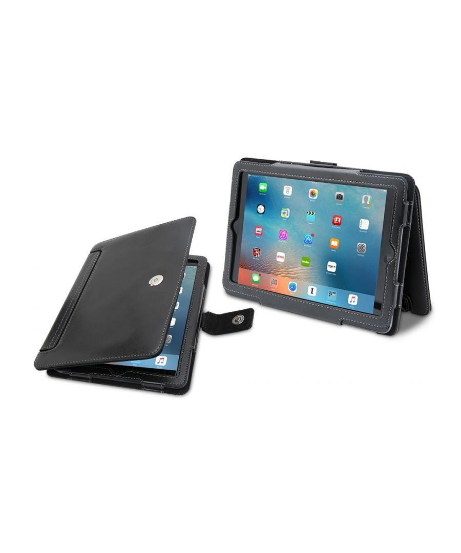 Image for Aquarius Premium iPad Mini Folio Case Black Leather