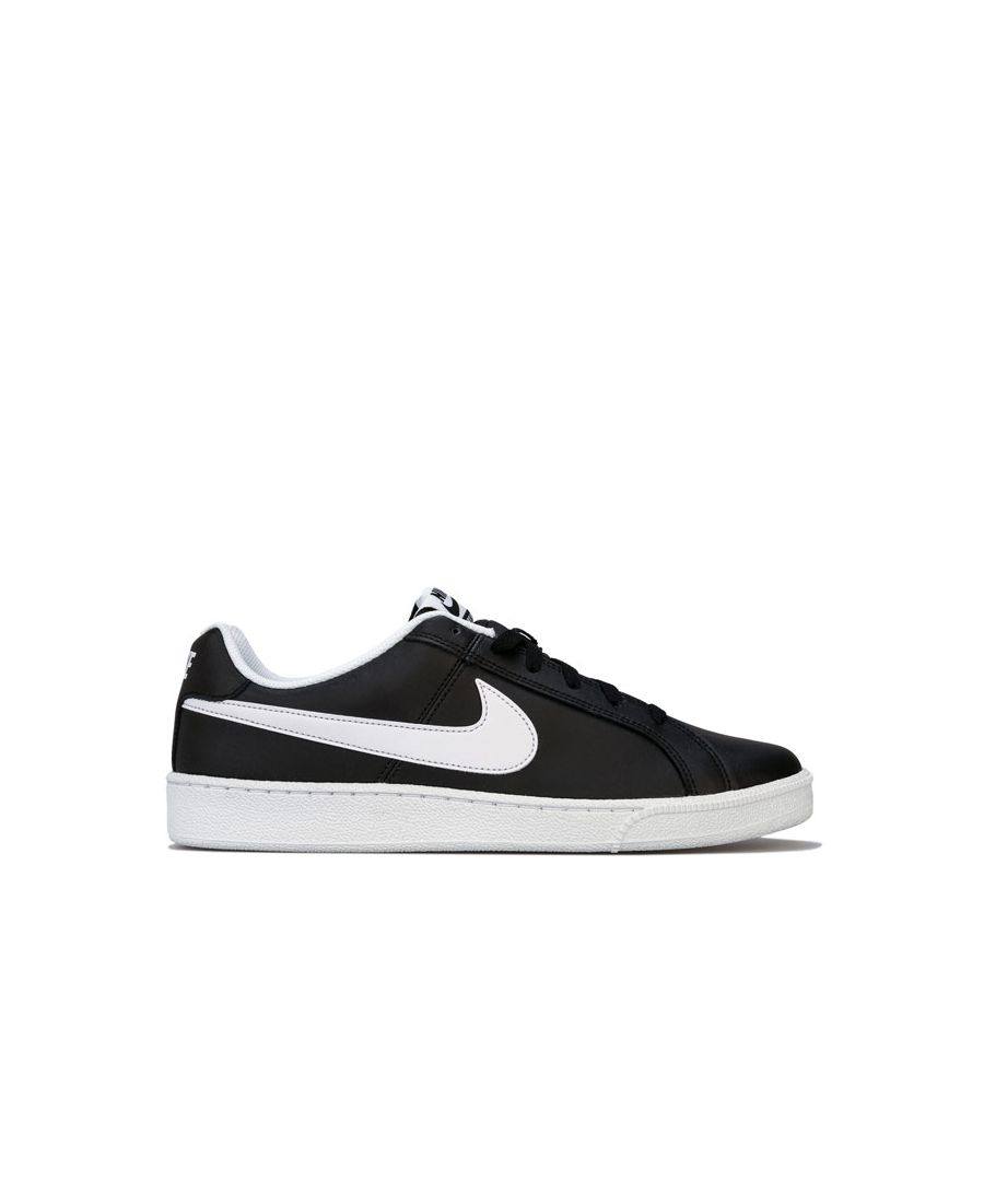 Image for Men's Nike Court Royal Trainers in Black-White