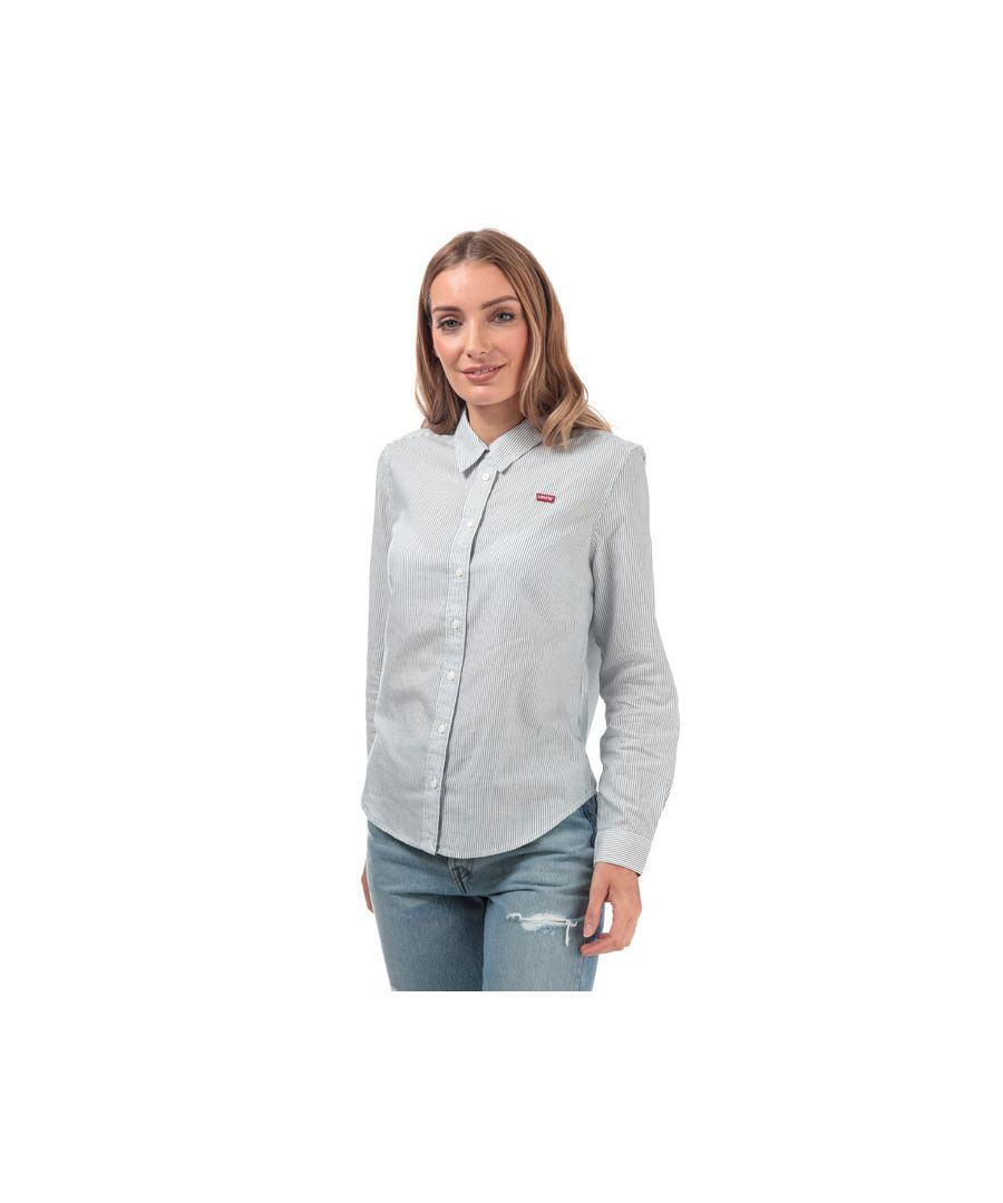 Image for Women's Levis Ultimate Classic Shirt in Navy