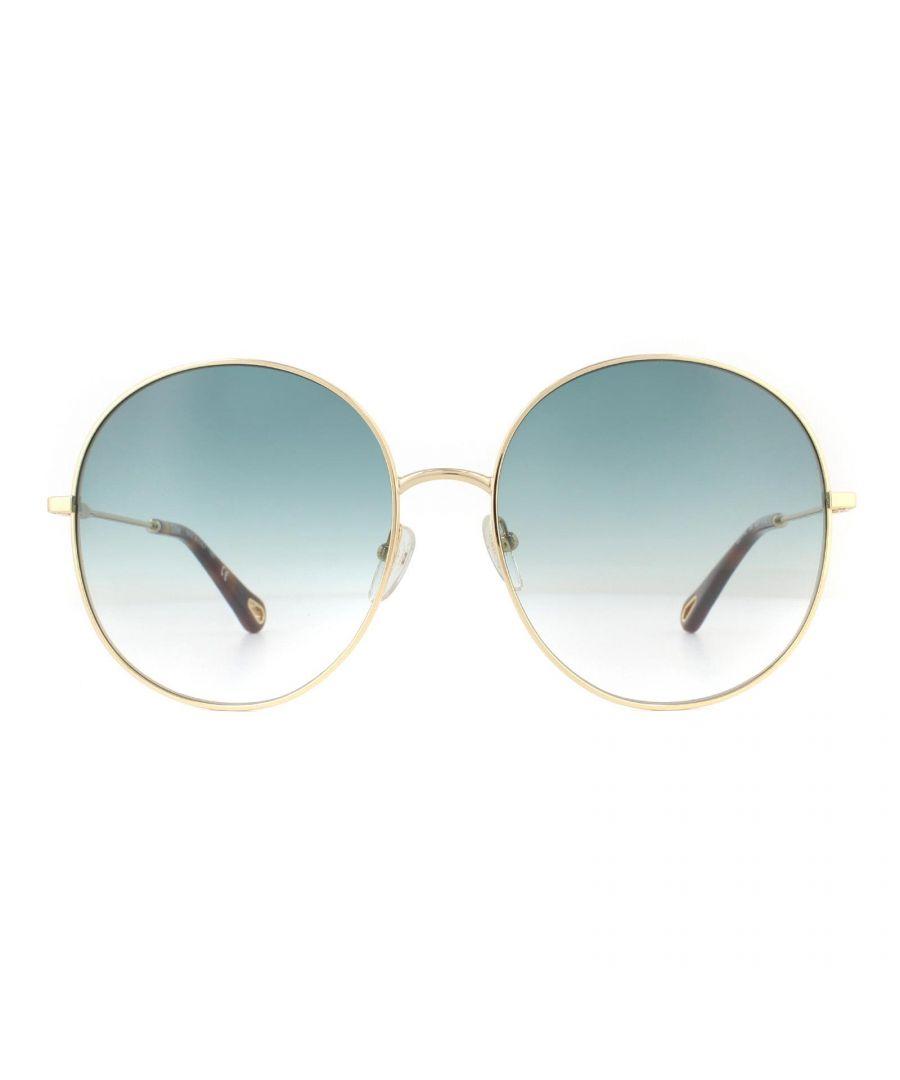Image for Chloe Sunglasses CE171S 838 Gold Petrol Blue Gradient