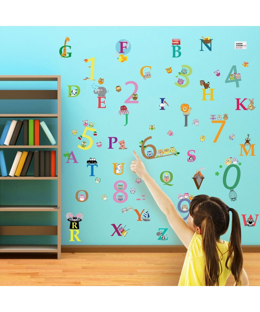 Image for Wall Art - Alphabet + Number