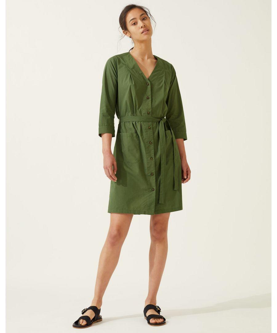 Image for Sylvia Button Beach Dress