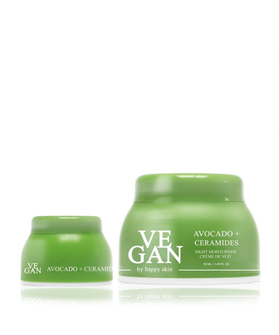 Image for AVOCADO & CERAMIDES moisturiser 50ml + AVOCADO & CERAMIDES eye cream 10 ml