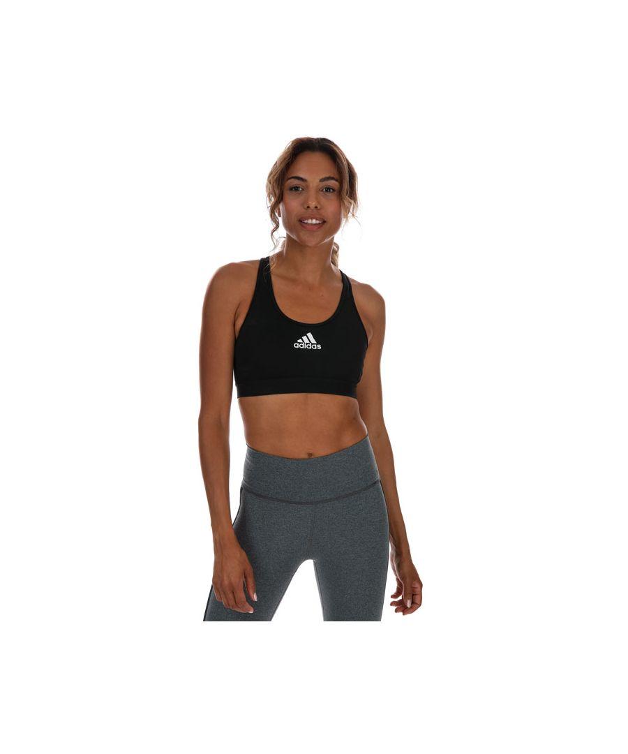 Image for Women's adidas Don't Rest Alphaskin Sports Bra in Black