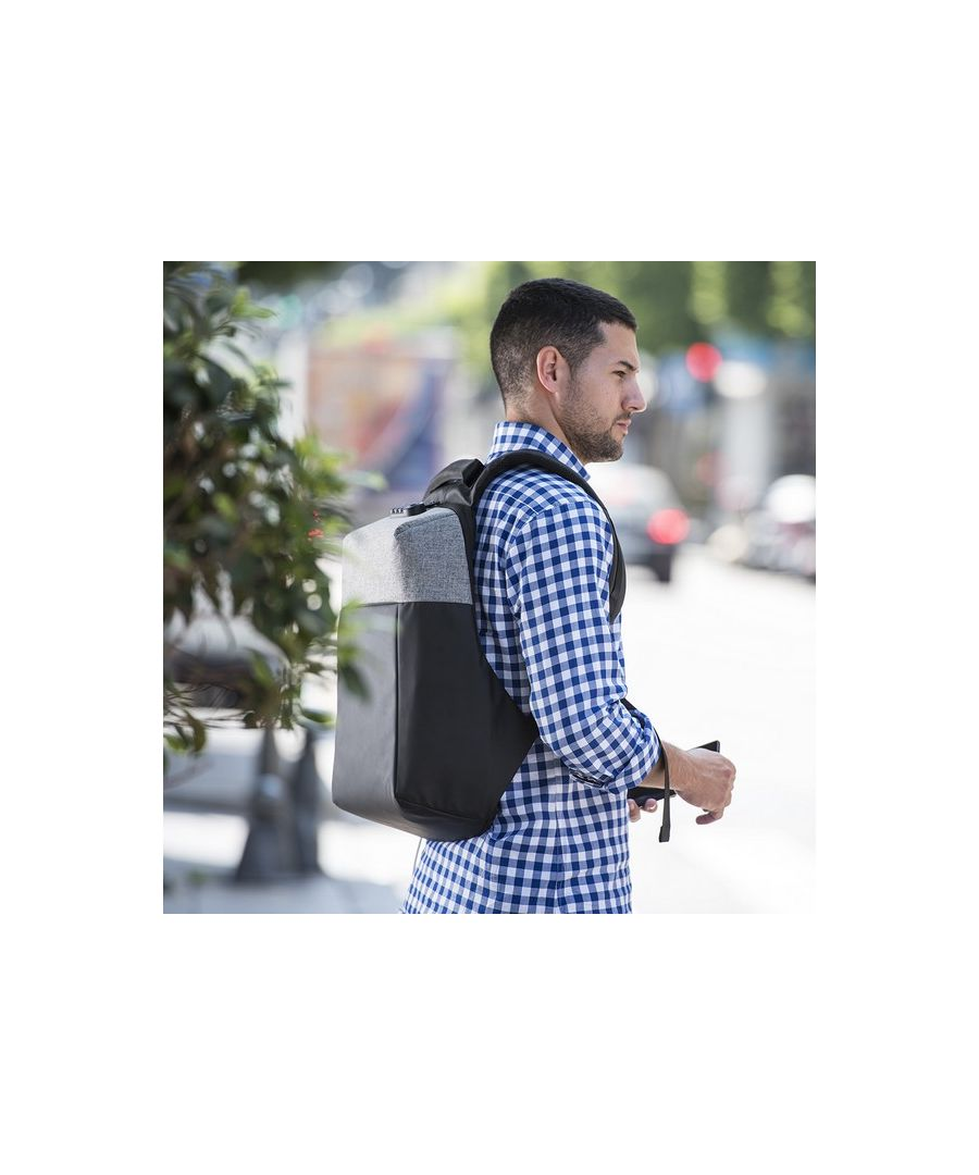 Image for Anti-theft Rucksack with USB and Tablet and Laptop Compartment 145949