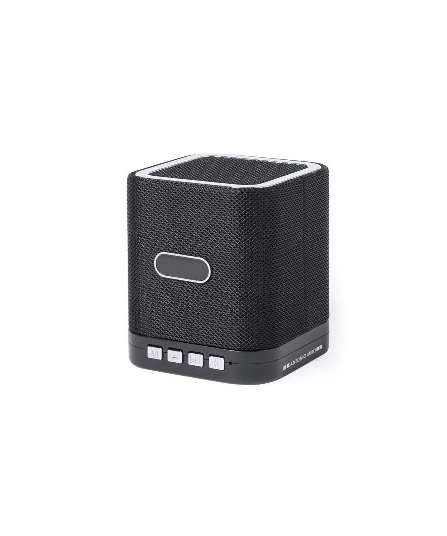 Image for Bluetooth Speaker with Micro SD Card Slot Antonio Miró 3W 147343
