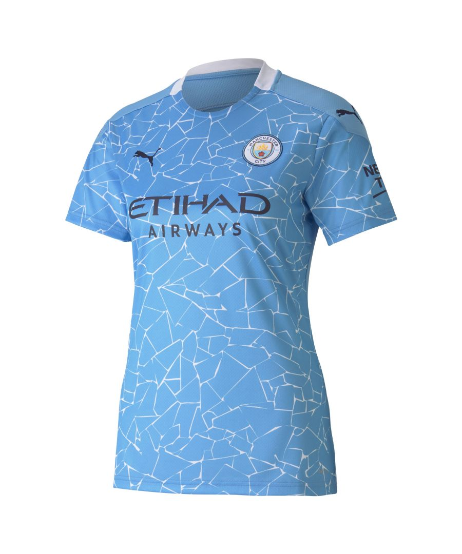 Image for Puma Manchester City 2020/21 Womens Home Shirt - UK 12