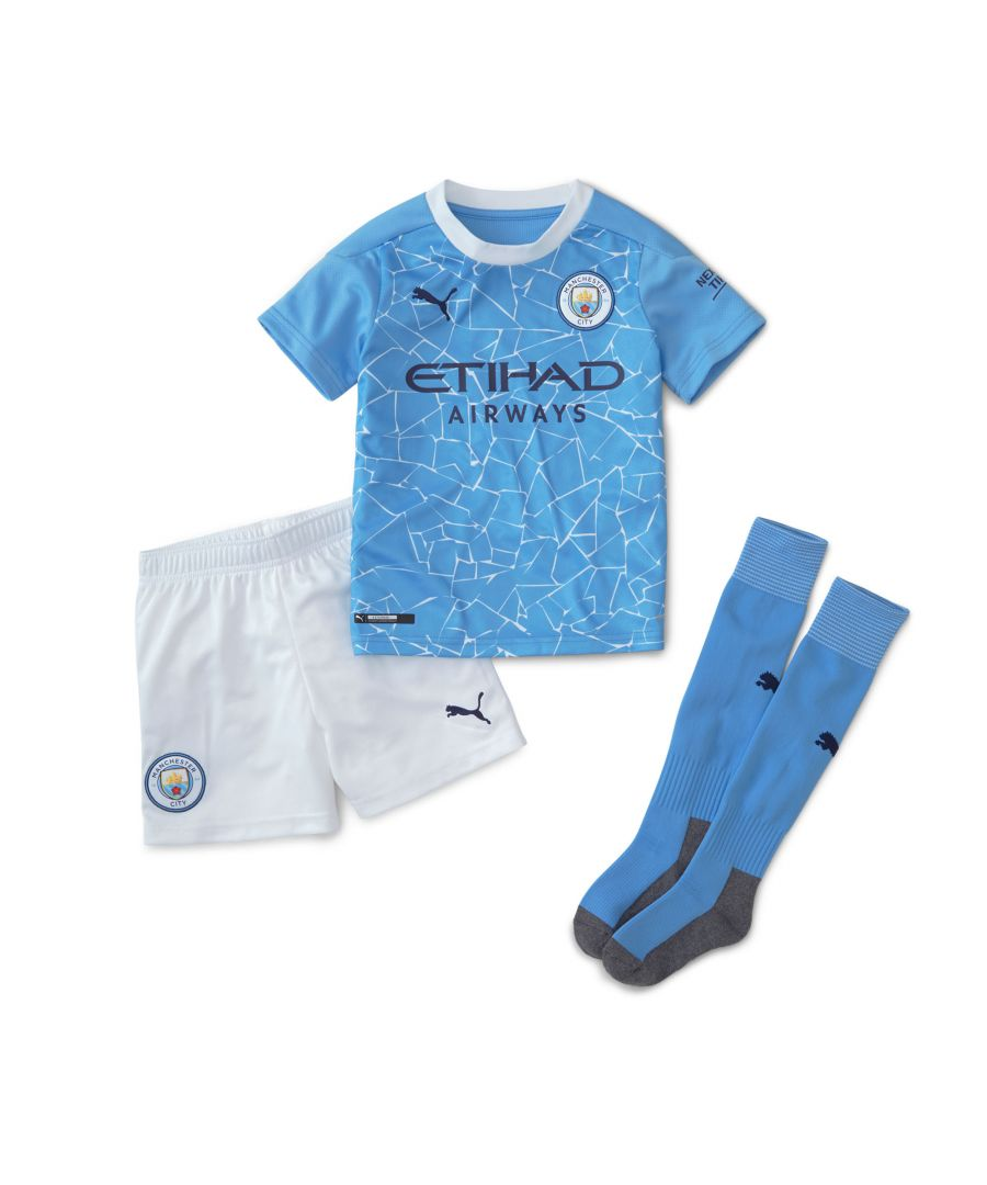 Image for Puma Manchester City 2020/21 Home Mini Kit - 4-5 Years