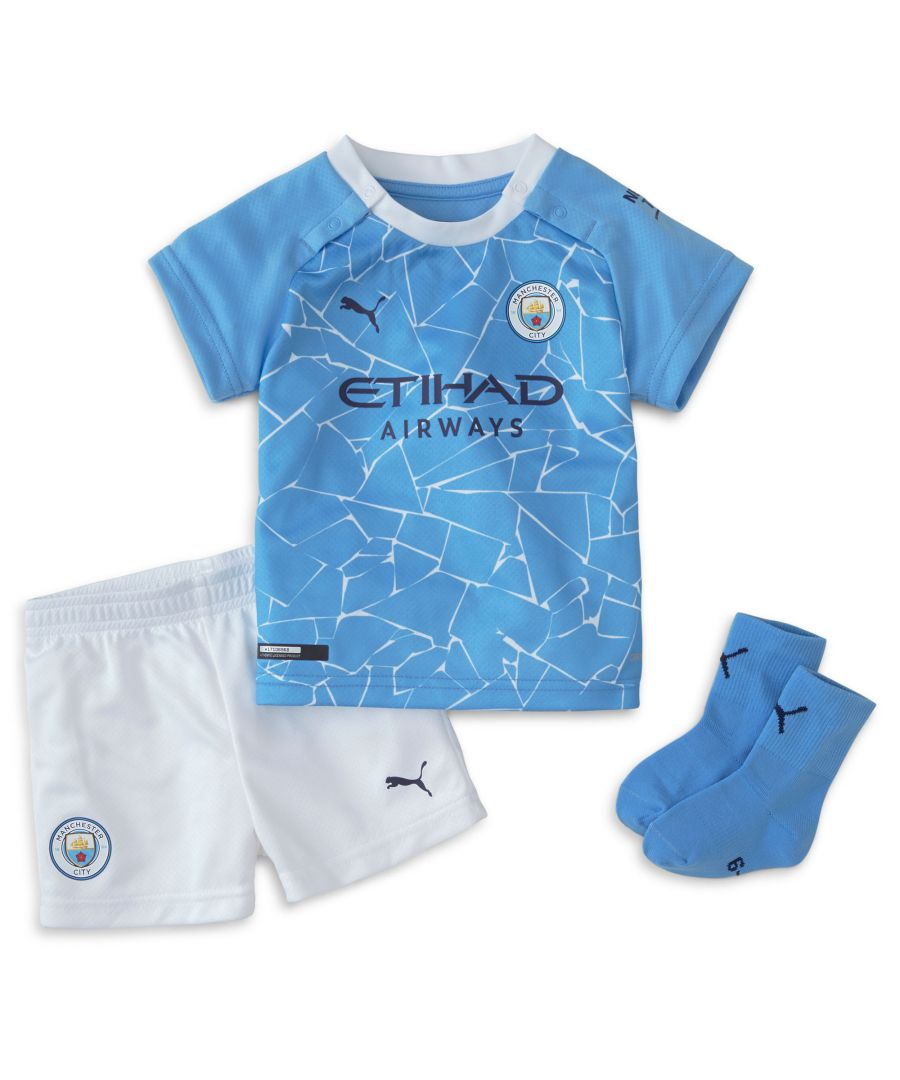 Image for Puma Manchester City 2020/21 Home Baby Kit - 9-12 Months