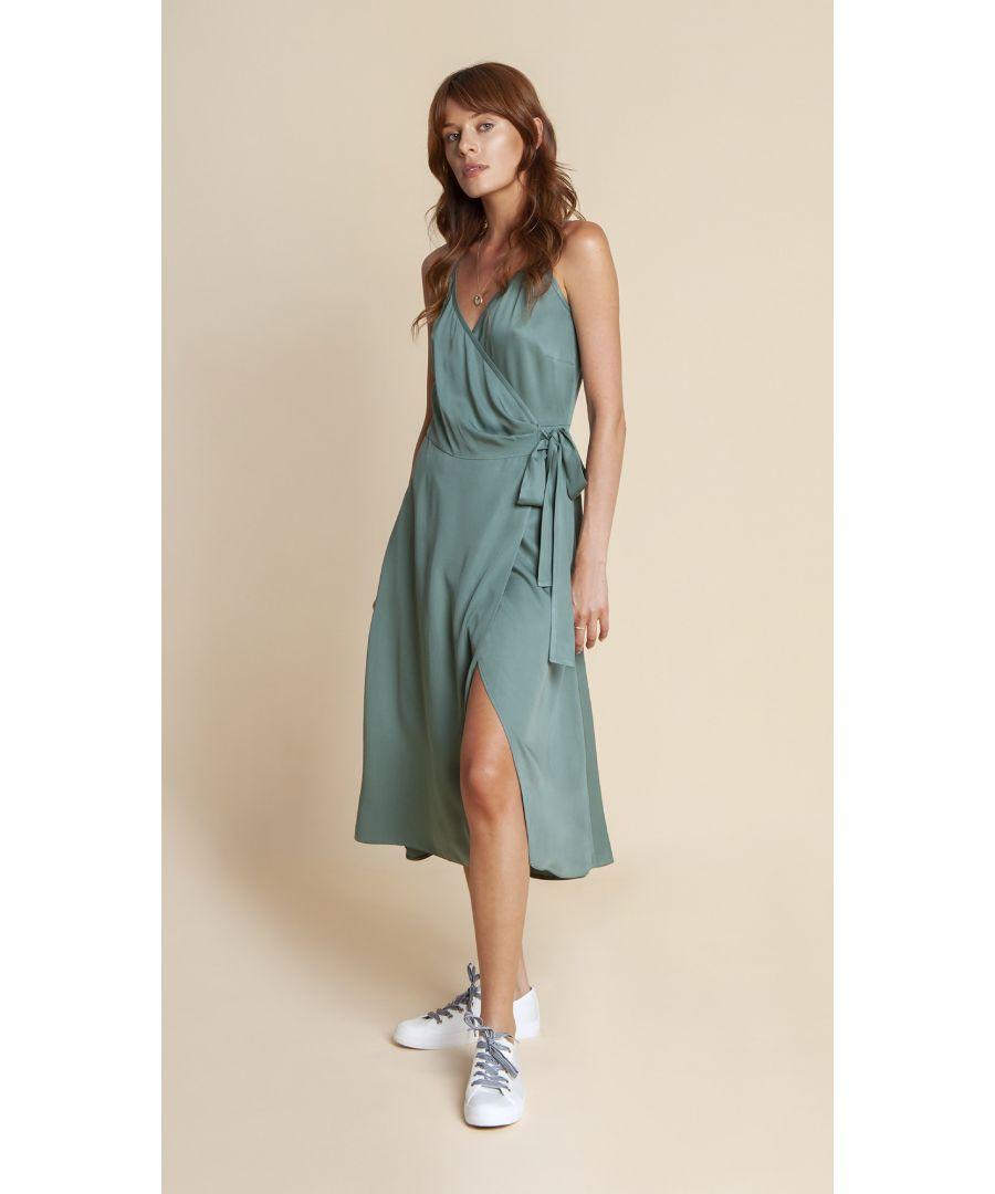 Image for Dress Blanca Pastel Green