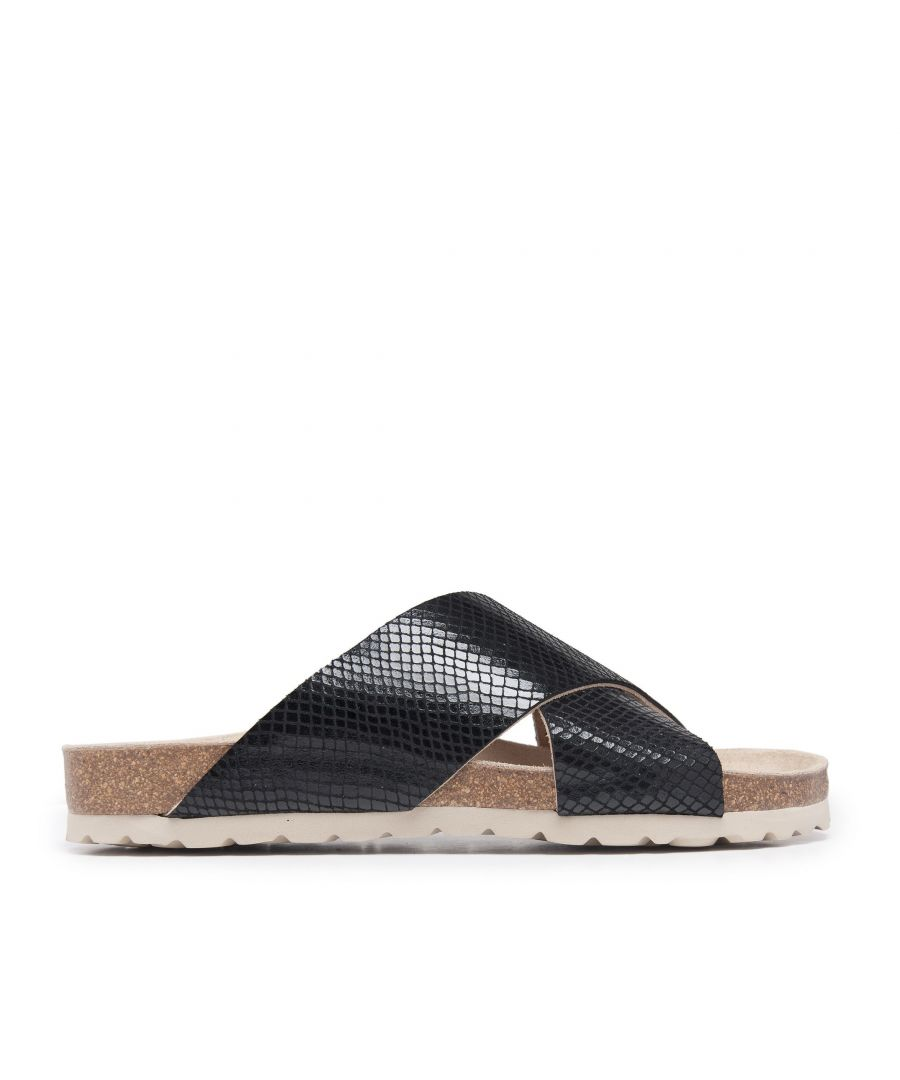 Image for Bio Sandals for Women Black Shoes Maria Barcelo