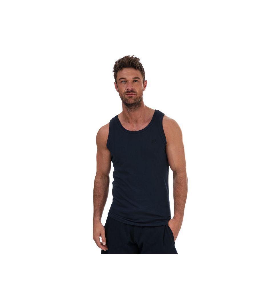 Image for Men's Russell Athletic Singlet Vest in Navy