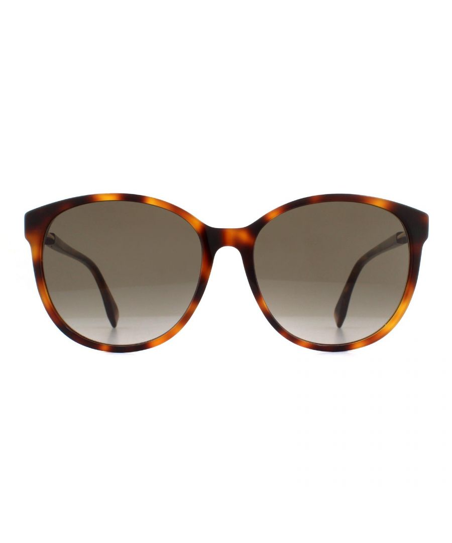 Image for Fendi Sunglasses FF 0412/S 086 HA Dark Havana Brown Gradient
