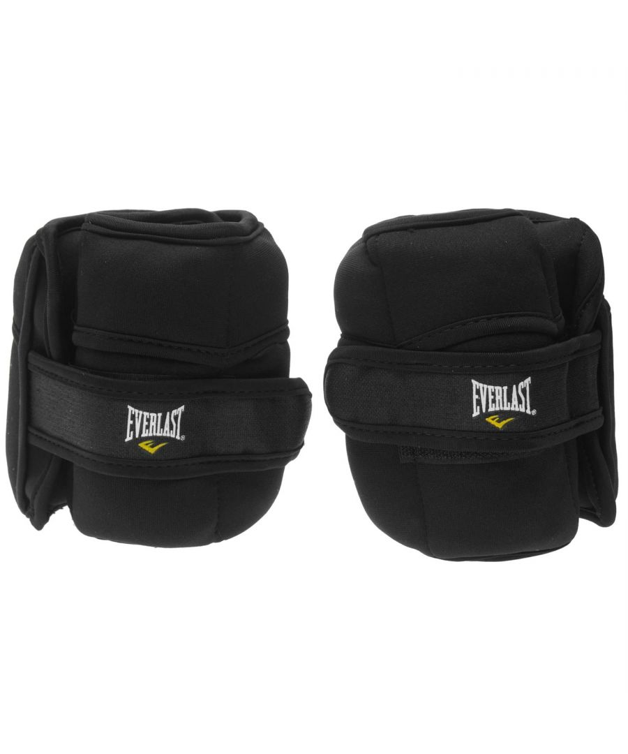 Image for Everlast 4kg Ankle Wrist Weights Workout Gym Sport Fitness Training