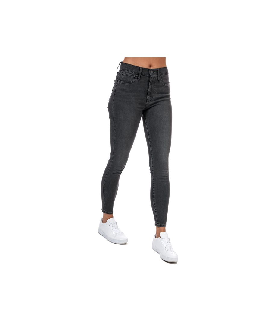 Image for Women's Levi's 720 High Rise Super Skinny Jeans In Grey