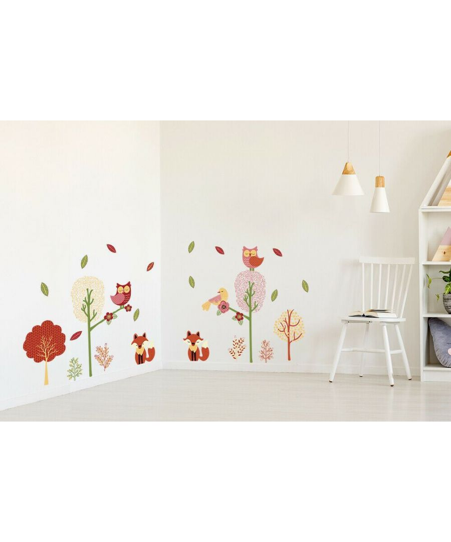 Image for Wall Art - Fox Forest Stickers