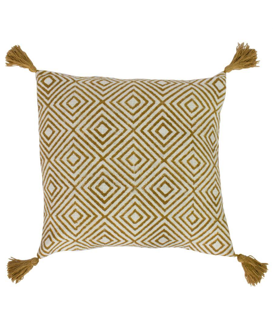 Image for Adelia 50X50 Poly Cushion Nat/Ocr