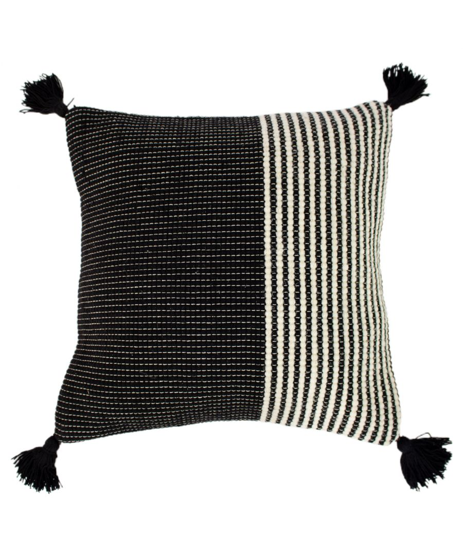 Image for Apache 50X50 Poly Cushion Ivy/Blk