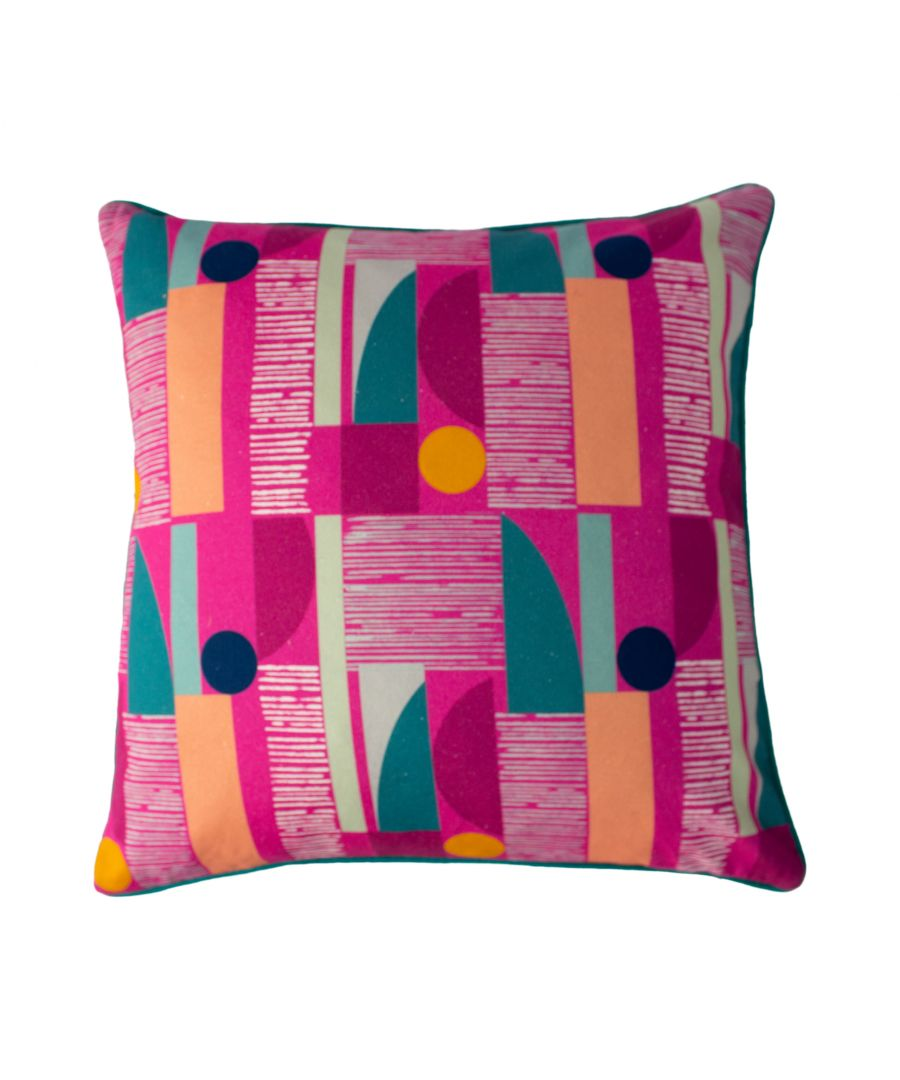 Image for Barcelona 50X50 Poly Cushion Fuchsi