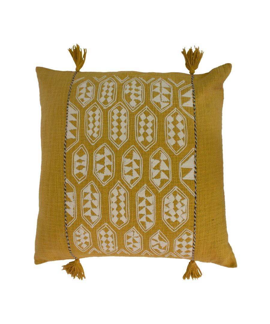 Image for Sequoia 55X55 Poly Cushion Ochre