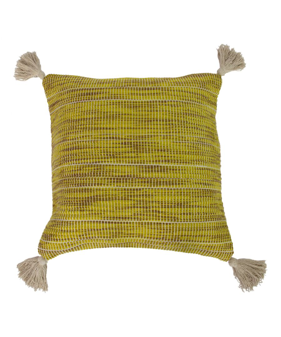 Image for Shilo 50X50 Poly Cushion Ochre Gree