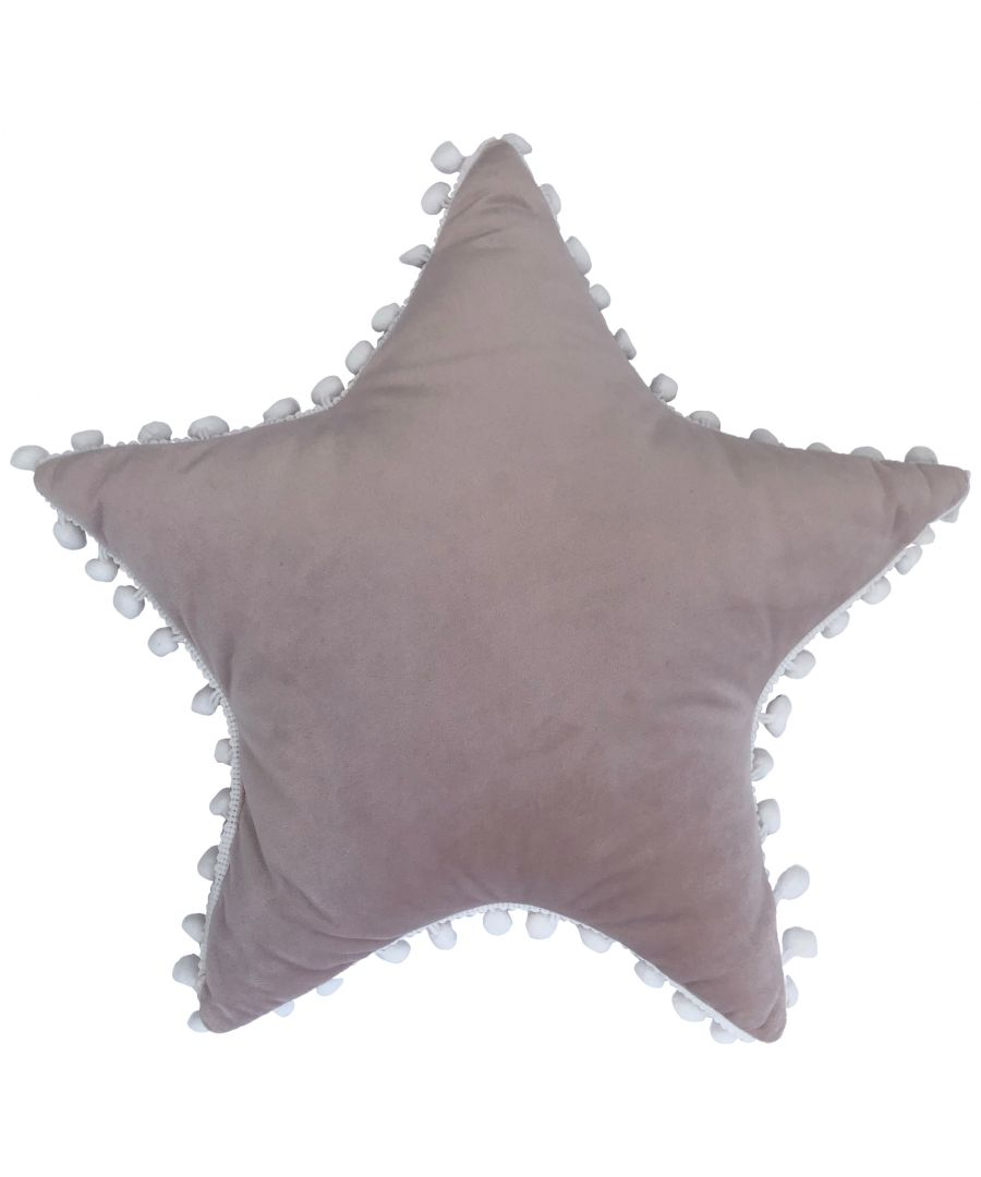 Image for Star Pom Pom Cushion