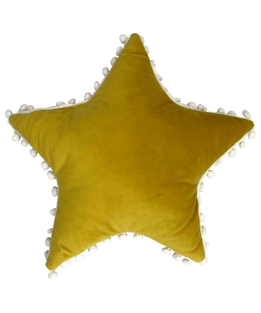 Image for Star Pom Pom Cushion